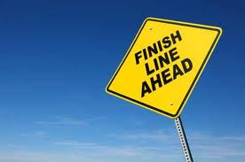 What's your finish line today? (2/4)